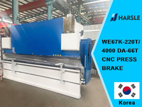 Coreia-WE67K-220T / 4000 DA66T CNC PRESS BRAKE